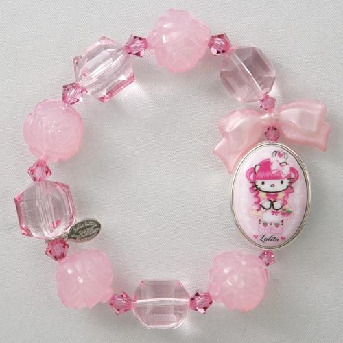 e9d1b33f0 Tarina Tarantino Hello Kitty Beaded Bracelet